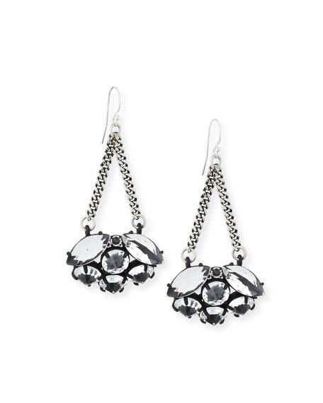 Diamanda Chain Drop Earrings