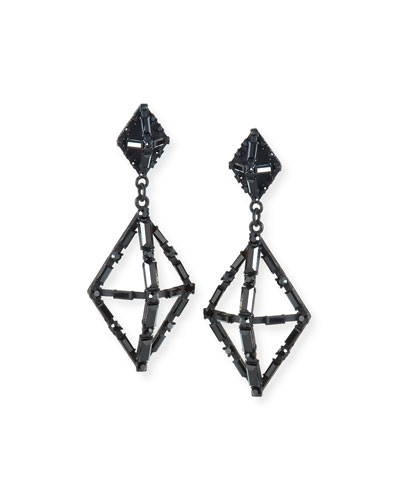 Helena Crystal Statement Earrings