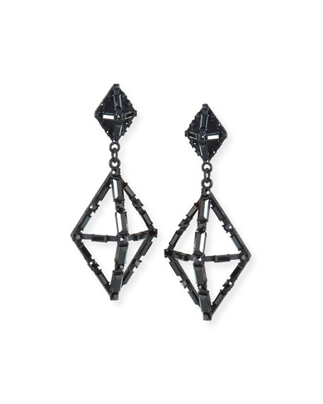 Lulu Frost Helena Crystal Statement Earrings