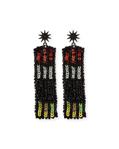 Josephine Sequin Statement Earrings