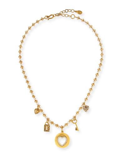 Love Five-Charm Necklace