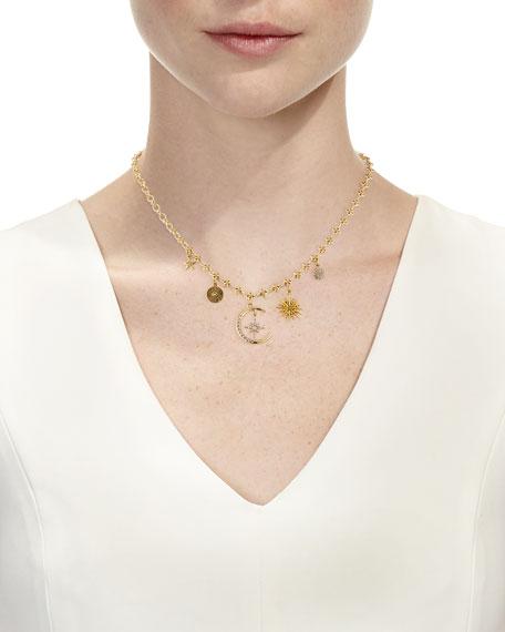 Celestial Five-Charm Necklace