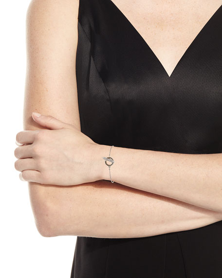 Mio Crystal Toggle Bracelet