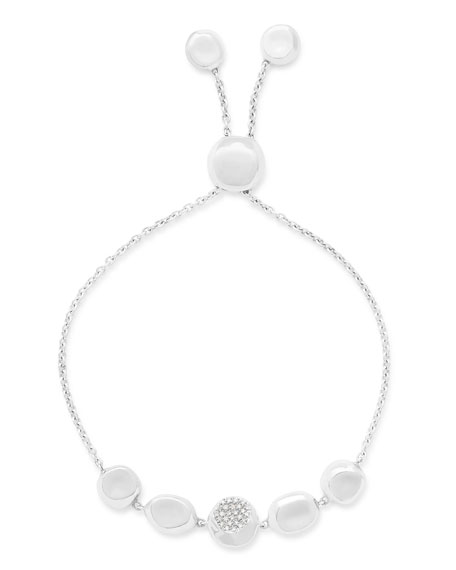 Ippolita Onda Chain Bracelet with Diamonds