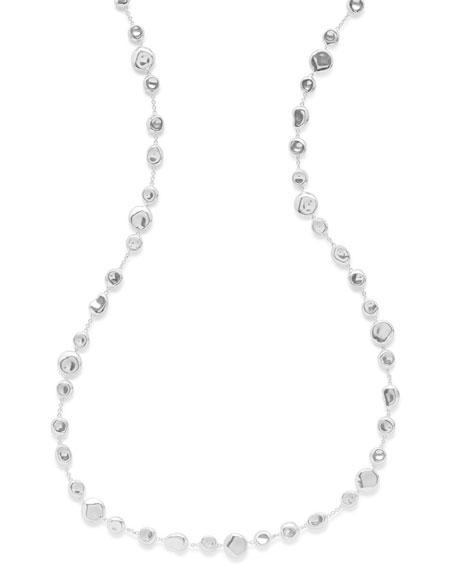"Onda Mixed Shapes Necklace, 40"""