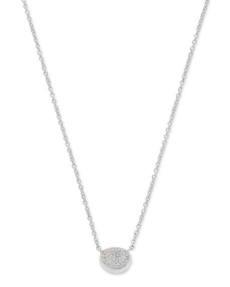925 Onda Single Necklace with Diamonds