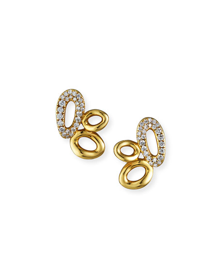 Ippolita 18K Cherish Cluster Earrings with Diamonds