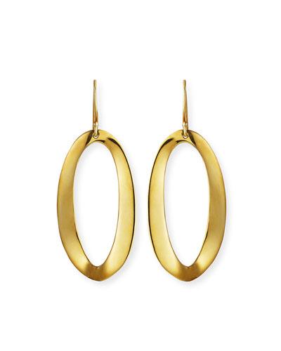 18K Cherish Medium Drop Earrings