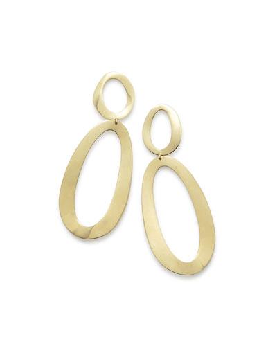 18K Gold Cherish Link Earrings