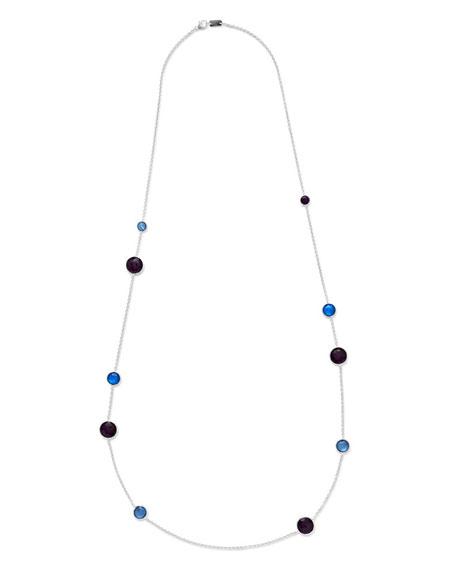 "925 Wonderland Lollipop Station Necklace, 43"""