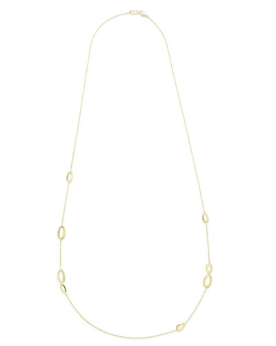18K Gold Cherish Station Necklace