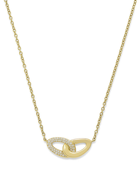 Ippolita 18K Gold Cherish Intertwined Link Necklace with