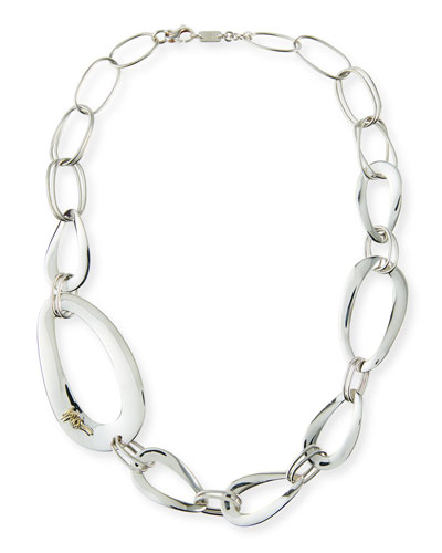 Cherish Large Link Collar Necklace