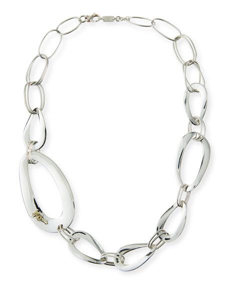 Cherish Large Link Collar Necklace