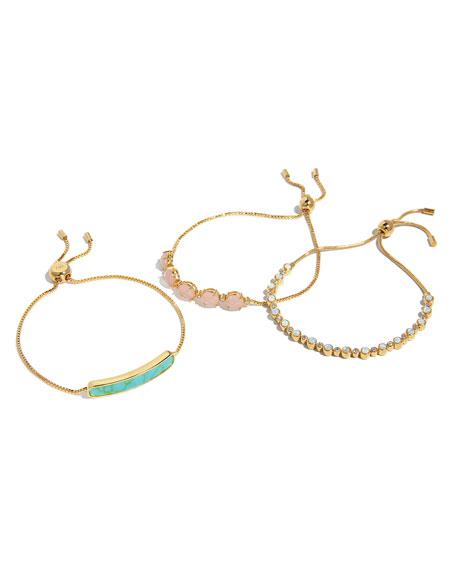 Synthetic Opal Tennis Bracelet