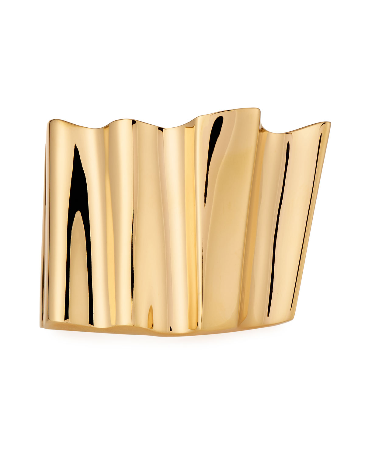 Ruffle Cuff Bracelet by Saint Laurent