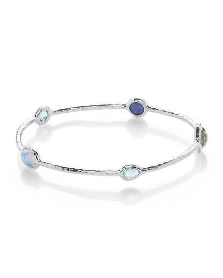 Ippolita Rock Candy?? 5-Stone Bangle Bracelet in Eclipse
