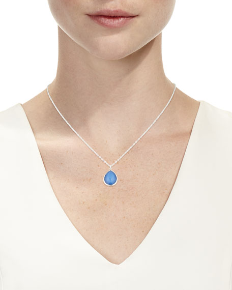 Wonderland Mini Teardrop Pendant Necklace