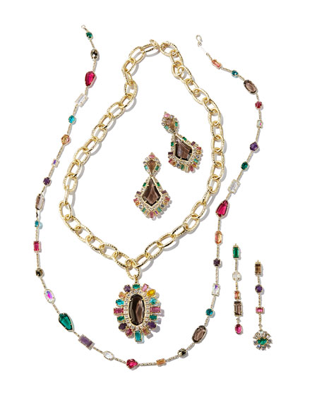 Shanda Crystal Statement Necklace