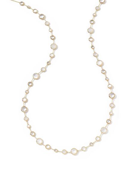 "18k Gold Lollitini Long Necklace in Flirt, 36"""
