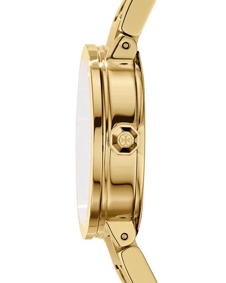 The Reva Bracelet Watch, Golden/White