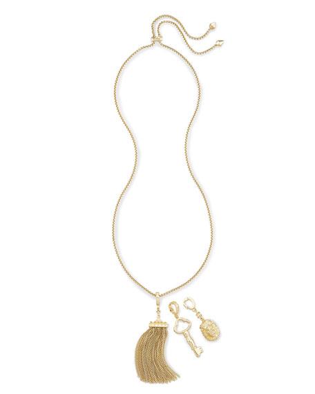 Kendra Scott Zosia Interchangeable Pendant Necklace