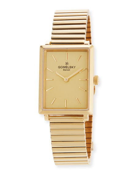 The Shirley 32mm Golden Bracelet Watch