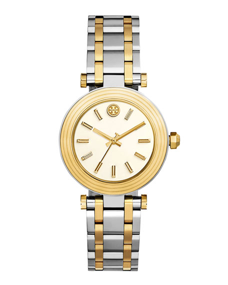 The Classic T Two-Tone Bracelet Watch