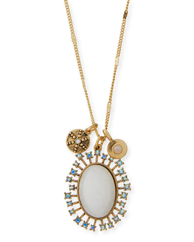 Celestial Crystal Pendant Necklace