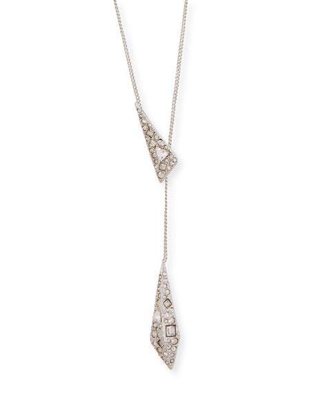 Origami Lariat Necklace