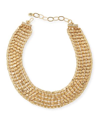 Golden Chain Choker Necklace