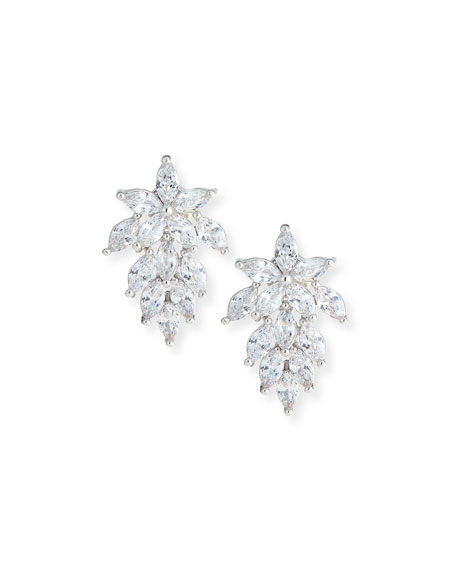 Fallon Monarch Mini Cluster Crystal Earrings