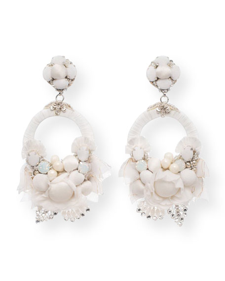 Raina Statement Clip-On Earrings