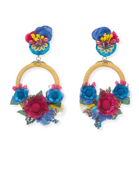 Eden Statement Clip-On Earrings