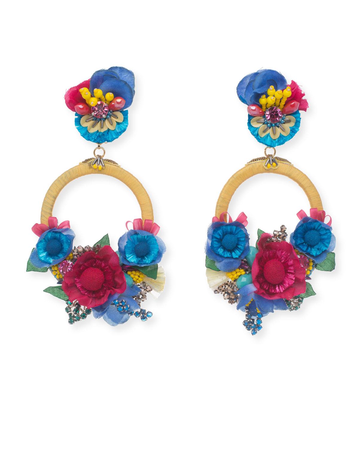 Eden Statement Clip On Earrings