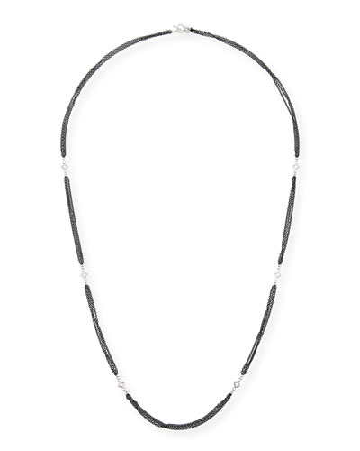 New World Triple-Strand Necklace