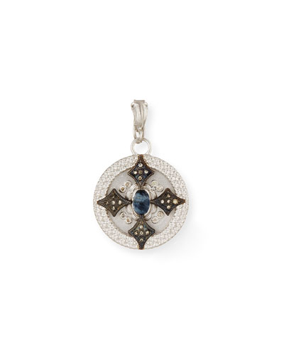 New World Round Crivelli Shield Enhancer with Diamonds