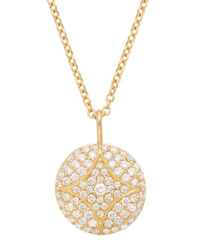 Aladdin Pavé Diamond Pendant Necklace