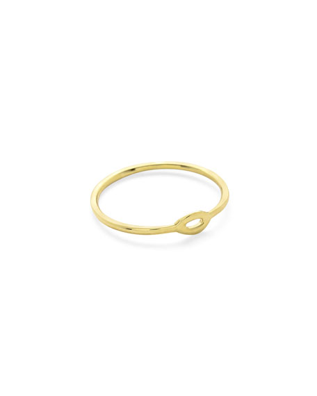 Ippolita 18K Gold Cherish Small Ring DJOd7N