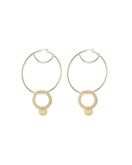 Nubia Hoop Earrings