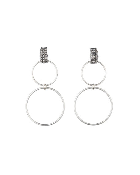 Dido Circle Statement Earrings