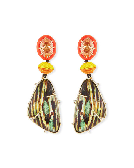 Alexis Bittar Lucite® Statement Drop Earrings