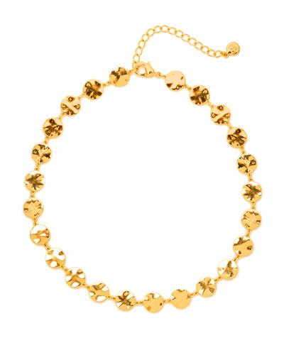 Chloe Coin Choker Necklace