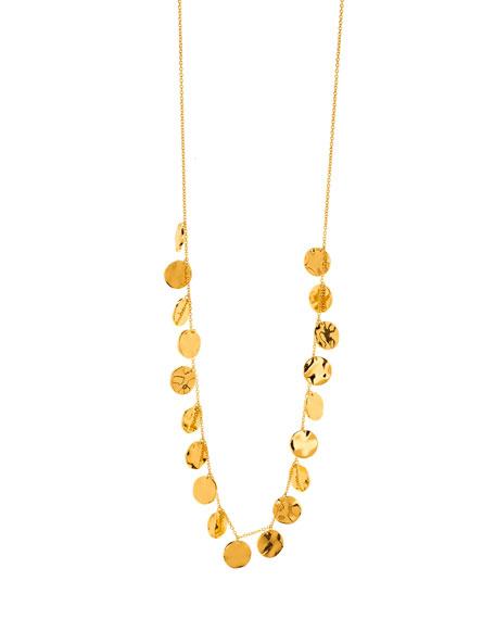 Chloe Coin Drop Necklace
