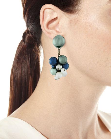 Bug Button Clip-On Earrings