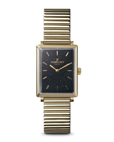 The Shirley Fromer 32mm Golden Bracelet Watch