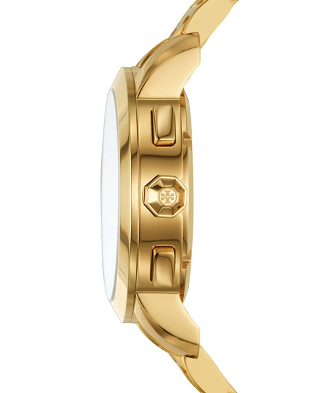 The Tory Classic Golden Chronograph Watch