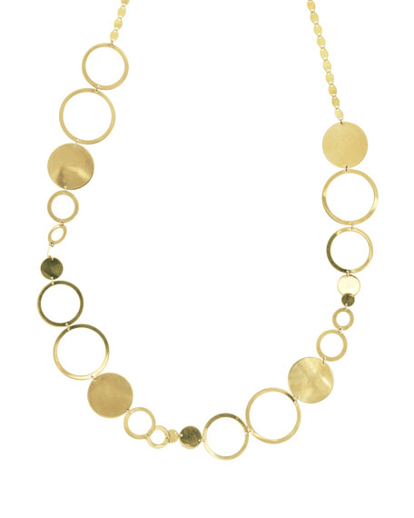Lana Jewelry Multi Disc Short Necklace