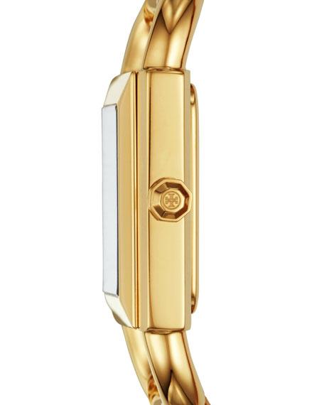 The Phipps Golden Mesh Bracelet Watch