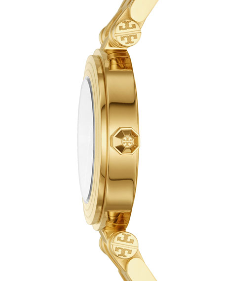 The Classic T Two-Tone Bracelet Watch, Golden/Navy